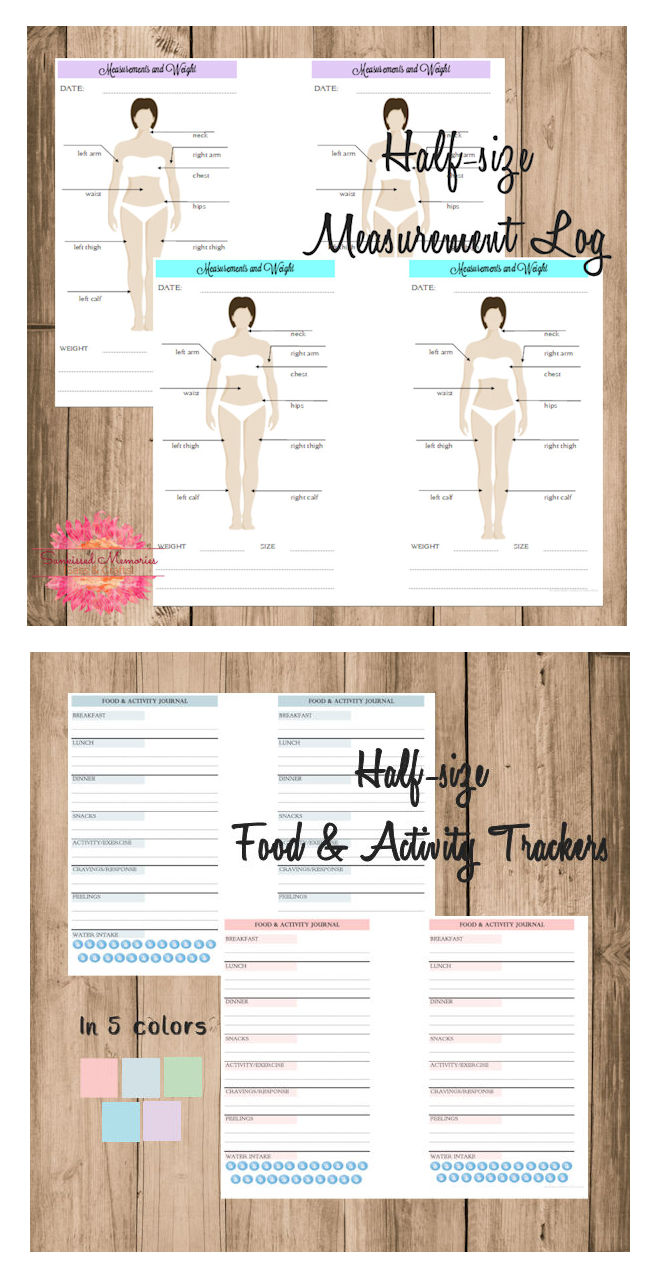 photograph relating to Fitness Printables titled Health Planner Printables Sunkissed Reminiscences - S with